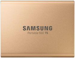 Samsung SSD T5 500GB zlatý