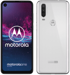 Motorola One Action biely