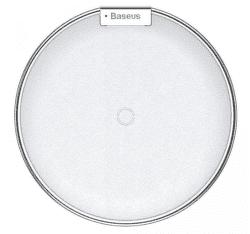 Baseus iX bezdrôtová Qi nabíjačka, strieborná