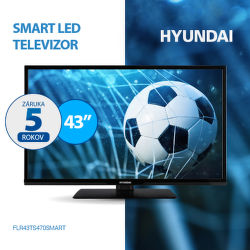 5-ročná záruka na TV Hyundai