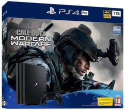 PlayStation 4 Pro 1TB Gamma Chassis čierna + Call of Duty: Modern Warfare