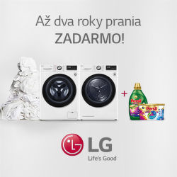 Darček k práčkam a sušičkám LG
