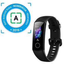 Honor Band 5 čierny