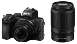 Nikon Z50, čierna + Nikon Z DX 16-50mm f/3,5-6,3 VR + Nikon Z DX 50–250 mm f/4,5–6,3 VR