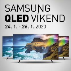 Samsung QLED víkend