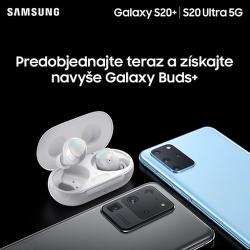 Darček k predobjednávkam na Samsung Galaxy S20+ a S20 Ultra 5G