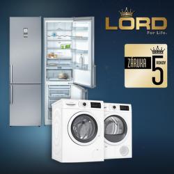 5-ročná záruka na spotrebiče Lord