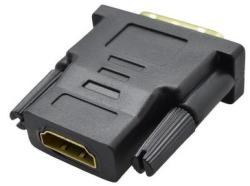 Mobilnet adaptér DVI samec (24+1) na HDMI samicu