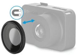 TrueCam magnetický CPL filter pre TrueCam M5 Wi-Fi/M7 GPS Dual, čierna