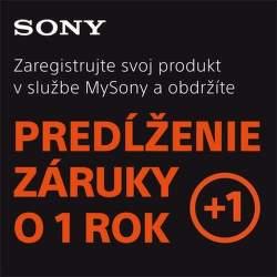 Predĺžená záruka na fototechniku Sony