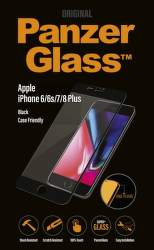 PanzerGlass sklo pre iPhone 8/7/6 Plus, čierna