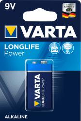 VARTA Longlife Power 1 9V alkalická batéria