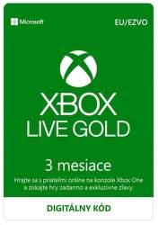 Xbox Live Gold EU 3-mesačné členstvo - Digitálny produkt