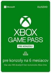 Xbox Game Pass pre konzoly EU 6-mesačné členstvo - Digitálny produkt