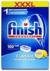 Finish Powerball Classic Lemon 100 ks tablety do umývačky