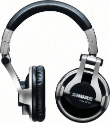 Shure SRH750DJ čierno-strieborné