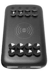Forever Fast Charge bezdrôtová nabíjačka 10 000 mAh 2 A čierna