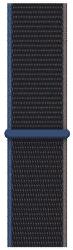 Apple Watch 40 mm športový prevliekací remienok uhľový
