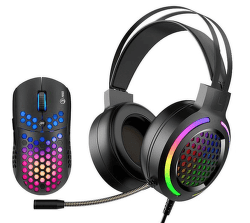 Marvo MH01BK herný set - headset a myš