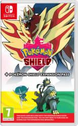 Pokémon Shield + Expansion Pass - Nintendo Switch hra