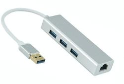 Power+ 3x USB 3.0 + RJ-45