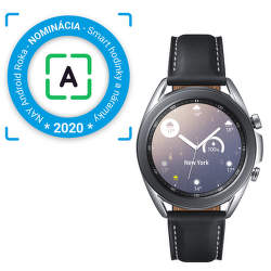 Samsung Galaxy Watch3 41 mm strieborné