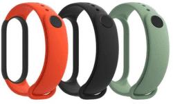 Xiaomi Mi Band 5 3 ks remienkov čierna/oranžová/tyrkysová