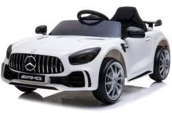 SparkTech Mercedes GT-R AMG elektrické autíčko biele