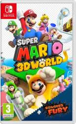 Super Mario 3D World + Bowser's Fury - Nintendo Switch hra
