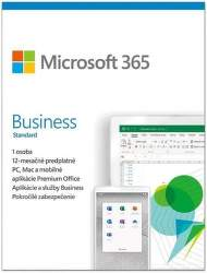 Microsoft 365 Business Standard ESD (1 ROK, 1 UŽIVATEĽ, 1TB CLOUD) - elektronická licencia
