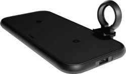 Zens Dual + Watch bezdrôtová nabíjačka 45 W čierna