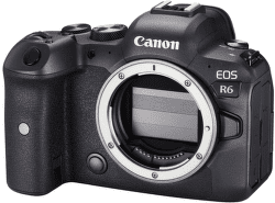 Canon EOS R6 telo čierna
