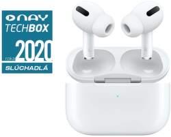 Apple AirPods Pro biele slúchadlá s bezdrôtovým nabíjacím puzdrom
