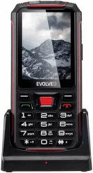 Evolveo StrongPhone Z4 čierno-červený