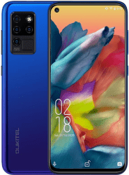 Oukitel C21 64 GB modrý