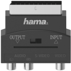 Hama 205268 adaptér S-VHS/RCA - Scart