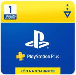 PlayStation Plus SK 1-mesačné členstvo - Digitálny produkt