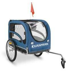 Duramaxx King BLU Rex príves na bicykel pre psov