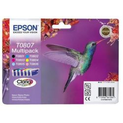 EPSON T0807 color (kolibrík) - atrament