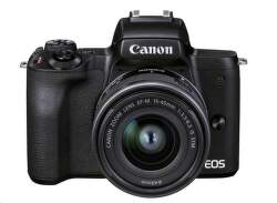 Canon EOS M50 Mark II Vlogger Kit čierny
