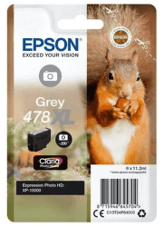 Epson 478 XL sivá