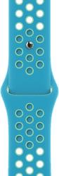 Apple Watch 44 mm Nike športový remienok Chlorine Blue/Green Glow štandardný