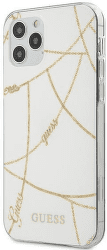 Guess puzdro pre Apple iPhone 12/12 Pro biele