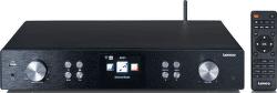 Lenco DIR-250BK čierny Hi-Fi tuner s internetovým rádiom