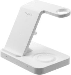 Fixed Powerstation bezdrôtová nabíjačka Qi 15 W biela