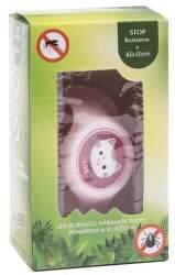 Power+ BraceMosq MAČKA LED repelentný náramok