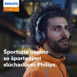 Darček k športovým slúchadlám Philips