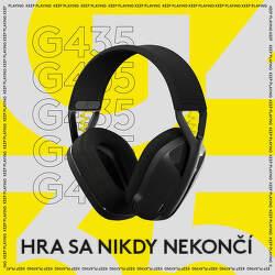 Darček k predobjednávke headsetu Logitech G435