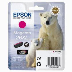 EPSON T2633 26XL magenta (ľadový medveď) - atrament