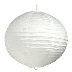 ECOPLANET Guľa biela 50cm-papier. luster
